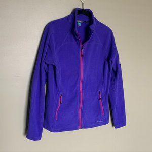 Eddie Bauer First Ascent full zip fleece jacket
